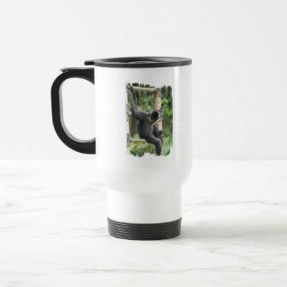 Young White Cheeked Capuchin Monkey Plastic Mug