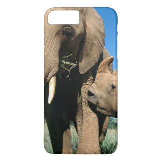 Young White Rhinoceros iPhone 8 Plus/7 Plus Case