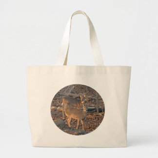 Young Whitetail Deer Series Canvas Bag