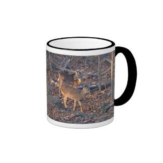 Young Whitetail Deer Series Coffee Mugs