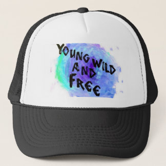 Young, Wild, and Free Snapback Trucker Hat