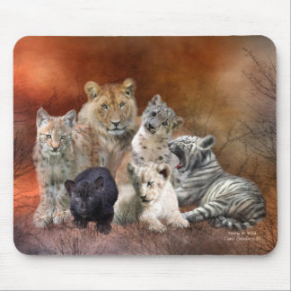 Young Wild Art Mousepad