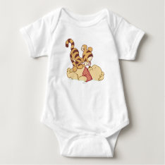 Young Winnie the Pooh Baby Bodysuit at Zazzle