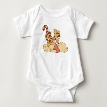 Disney Themed Young Winnie the Pooh Baby Bodysuit