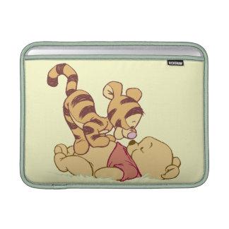 Young Winnie the Pooh MacBook Sleeves