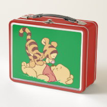 Young Winnie the Pooh Metal Lunch Box