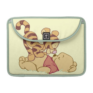 Young Winnie the Pooh Sleeves For MacBook Pro