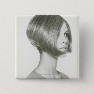 Young Woman 2 Pinback Button
