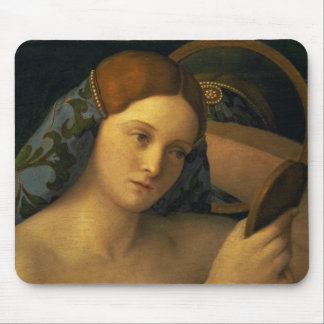 Young Woman at her Toilet Mouse Pad