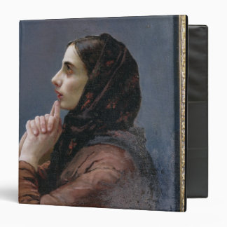 Young Woman at Prayer, 1879 (oil on canvas) Binder