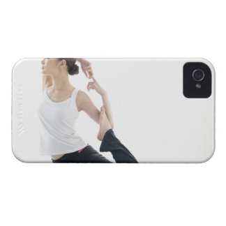 young woman beauty yoga 2 iPhone 4 cases