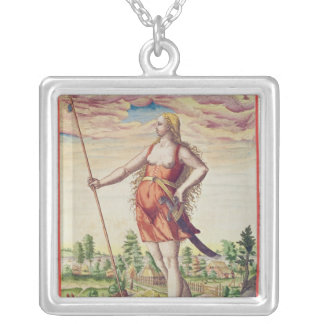 Young Woman from a Neighbouring Tribe to the Custom Necklace