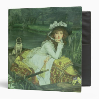 Young Woman in a Boat, or Reflections, c.1870 (oil Binder