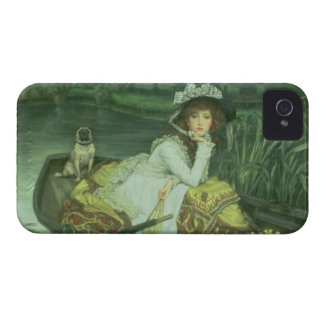 Young Woman in a Boat, or Reflections, c.1870 (oil iPhone 4 Case-Mate Case