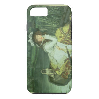 Young Woman in a Boat, or Reflections, c.1870 (oil iPhone 8/7 Case