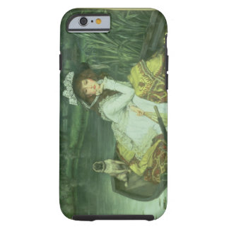Young Woman in a Boat, or Reflections, c.1870 (oil Tough iPhone 6 Case