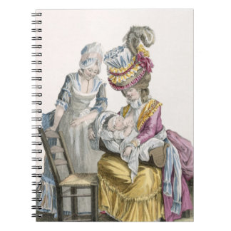 Young Woman in a Dress 'a la Levite' Breastfeeding Notebook