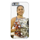 Young woman in cheerleading uniform barely there iPhone 6 case