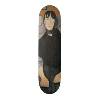 Young Woman of the People Skate Board Deck