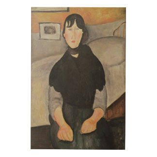 Young Woman of the People Wood Canvas