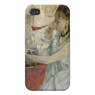 Young Woman Powdering her Face, 1877 iPhone 4 Cases