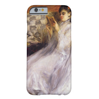 Young Woman Reading, c.1873 (oil on canvas) iPhone 6 Case