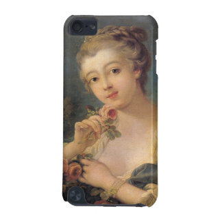 Young Woman with a Bouquet of Roses by Francois Bo iPod Touch 5G Case