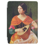 Young Woman with a Mandolin, 1845-47 iPad Air Cover