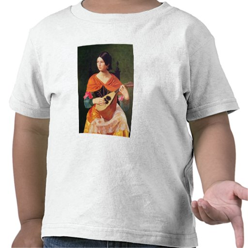 Young Woman with a Mandolin, 1845-47 T-shirts