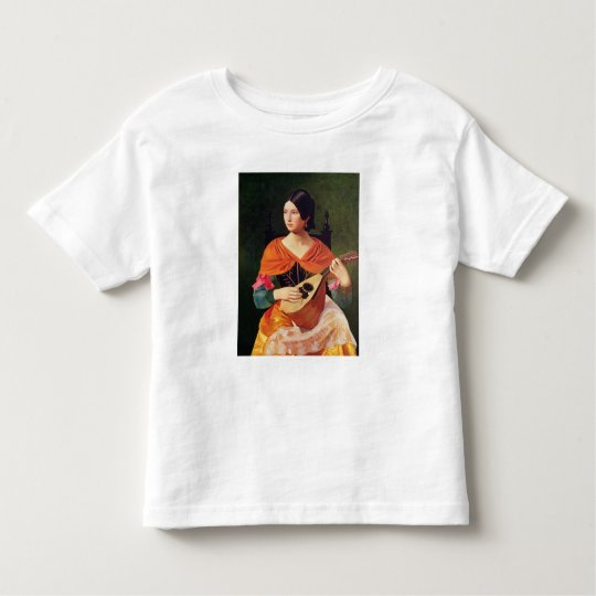 Young Woman with a Mandolin, 1845-47 Toddler T-shirt