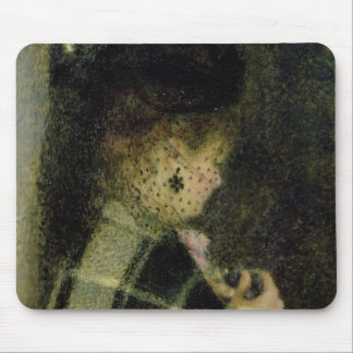 Young Woman with a Small Veil, c.1875 Mouse Pad