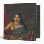Young Woman with a Veena Binder