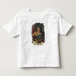 Young Woman with a Veena Toddler T-shirt