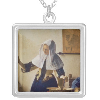 Young Woman with a Water Jug, c.1662 Necklace