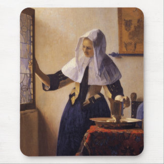 Young Woman with a Water Pitcher Mouse Pad