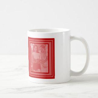 Young women coffee mug