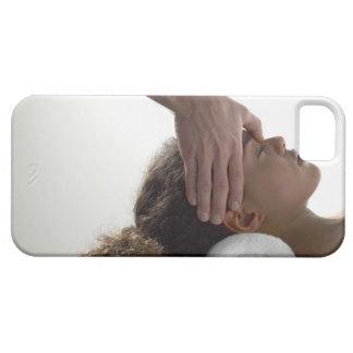 Young women enjoying a massage iPhone SE/5/5s case