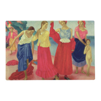 Young Women on the Volga, 1915 Placemat