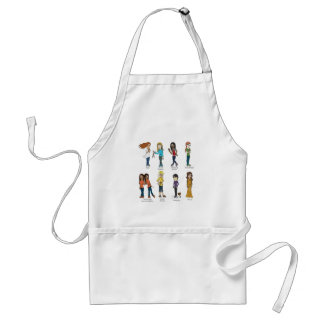 Young Women Values Apron