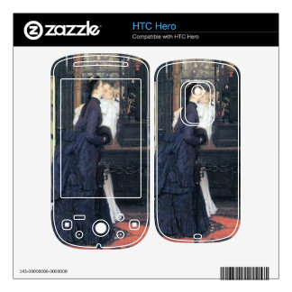 Young women with Japanese goods by James Tissot Skins For The HTC Hero