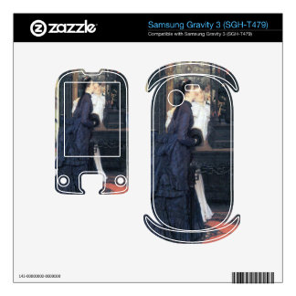 Young women with Japanese goods by James Tissot Samsung Gravity 3 Skins