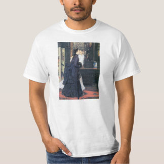 Young women with Japanese goods by James Tissot Tee Shirt