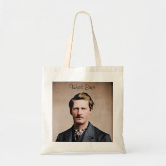 Young Wyatt Earp, colorized Tote Bag