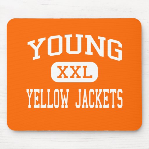 Young - Yellow Jackets - High - Knoxville Mouse Mat