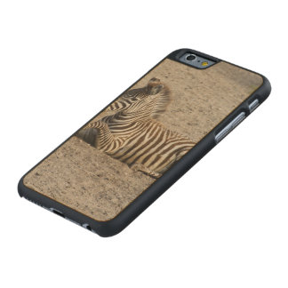Young zebra 1215A Carved Maple iPhone 6 Slim Case