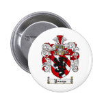 Younge Coat of Arms Younge Family Crest Pinback Button