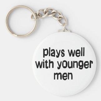 Younger men key chain