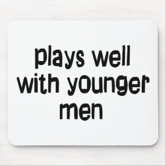Younger men mouse pad