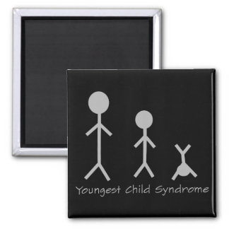 Youngest child syndrome funny magnet