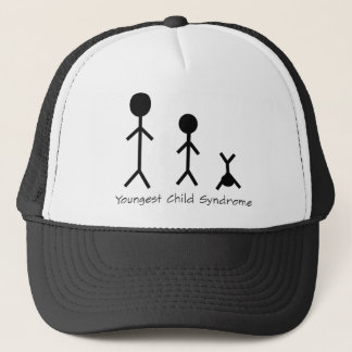 Youngest child syndrome funny trucker hat